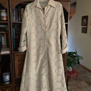 Vintage Lace dress/jacket